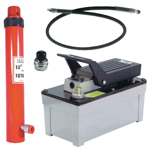 10-Ton Hydraulic Kit w/ OTC Pump