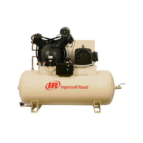 Ingersoll Rand 15HP 120 Gallon Horizontal Air Compressor - 7100E15-P