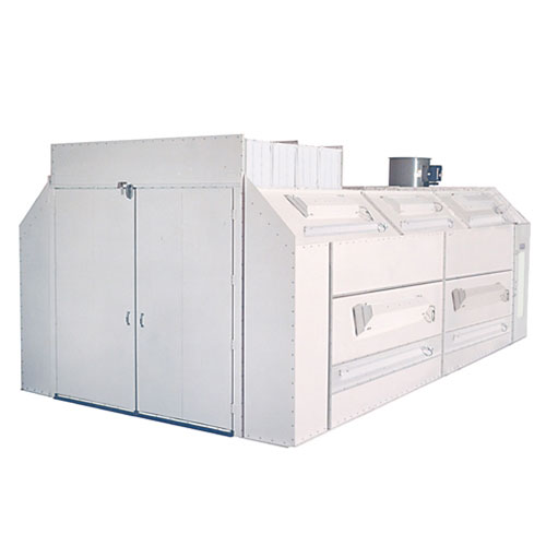 Col-Met Infra-Cure Semi Down Draft Paint Booth