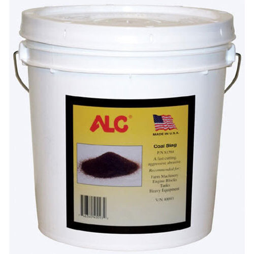 ALC Coal Slag Blasting Media - 25 lbs