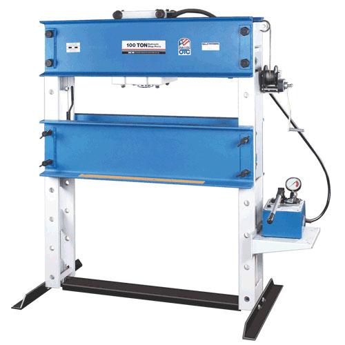 OTC 100-Ton Capacity Heavy-Duty Shop Press - 1857