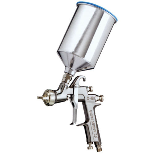 Anest Iwata Gravity Feed Compliant Paint Gun with Cup - W400LV