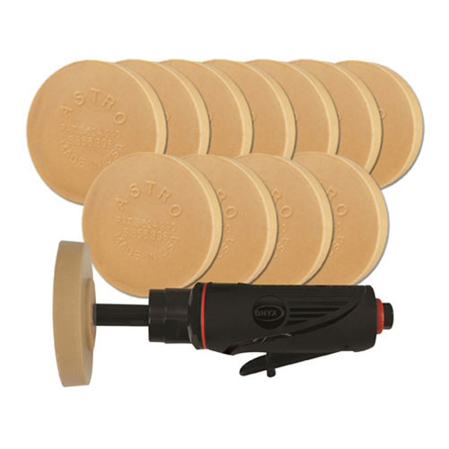 Astro Pneumatic ONYX Pinstripe Removal Kit with (12) 400E Eraser Pads - 232