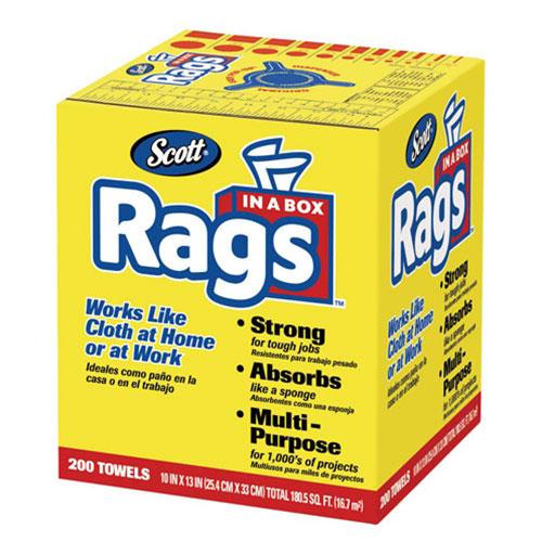 SCOTT Rags in a Box - 75260