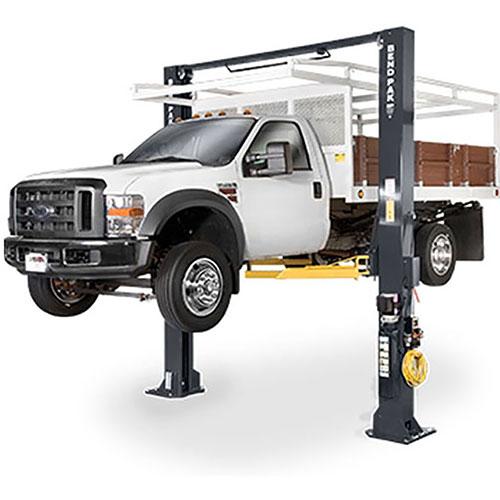 BendPak 15,000 lb 2-Post Extra Tall Super Duty Clearfloor Lift - XPR-15CL-192
