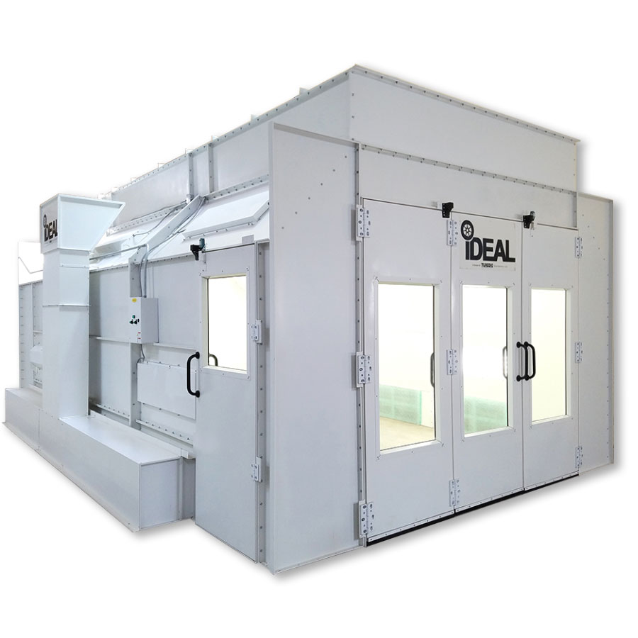 iDEAL Side-Down Draft Paint Spray Booth single phase 230 Volt