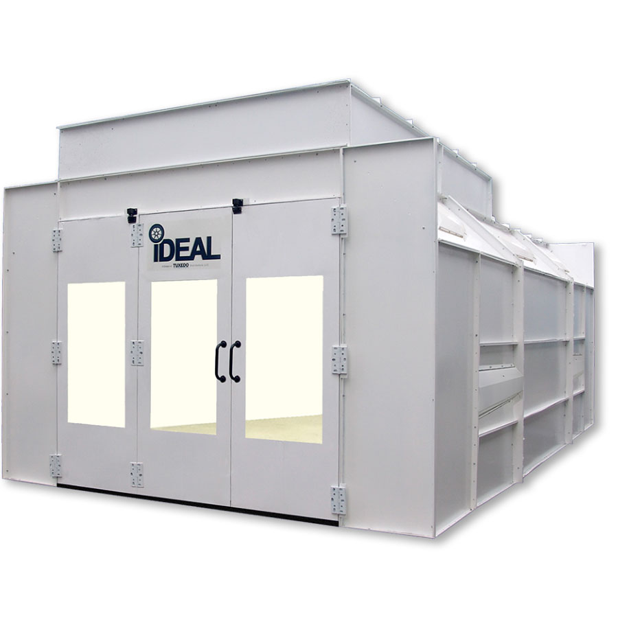 iDEAL Semi Down Draft Paint Spray Booth 3 phase 230 Volt