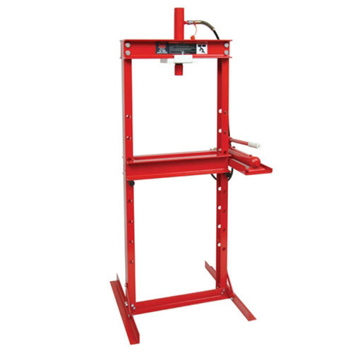 KABOCHO 12 Ton H-Frame Hydraulic Shop Press Shop Equipment 24000lbs Capacity Red