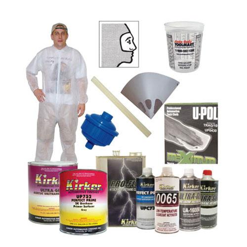 Kirker Paint Urethane/Clearcoat Kit #1