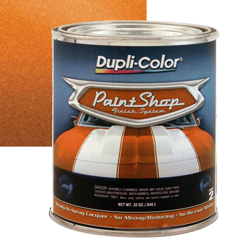 Dupli-Color Paint Shop Finishing System Burnt Orange ...