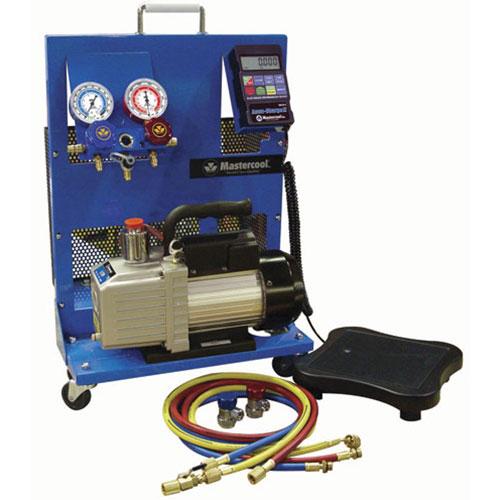 Mastercool Portable Evacuation and Electronic Charging Station - 91585B
