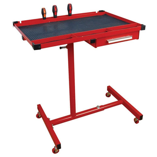Heavy-Duty Mobile Work Table with Drawer - ATD-7012