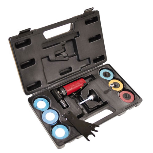 Chicago Pneumatic Mini Angle Die Grinder Kit - CP875K