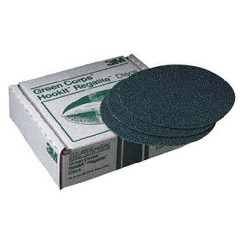 "3M Green Corps 6"" Hookit Regalite Discs"