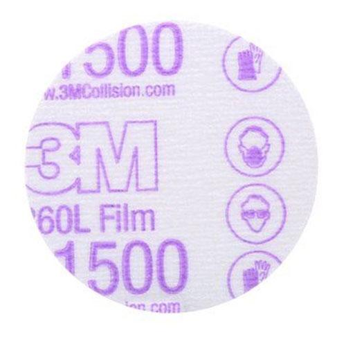 """3M Hookit 3"""" Finishing Film Discs"""