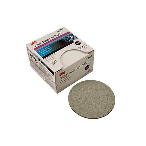 """3M Trizact Hookit 3"""" Foam Discs P3000 Grit - 02087"""