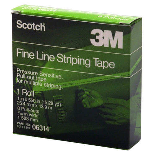 3M Scotch Fine Line Striping Tape - 06314