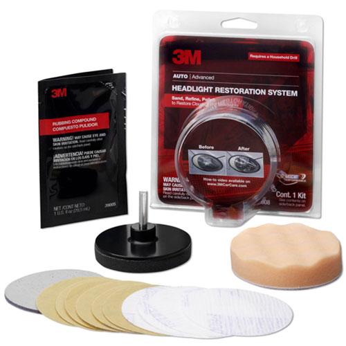 3M Headlight Lens Restoration System - 39008