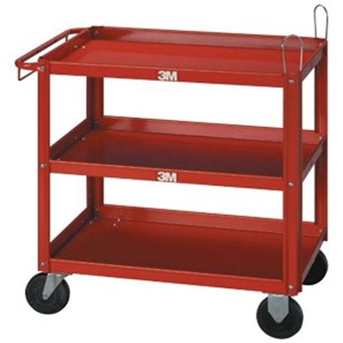3M C.A.R.T.S. Three-Shelf Cart - 02510