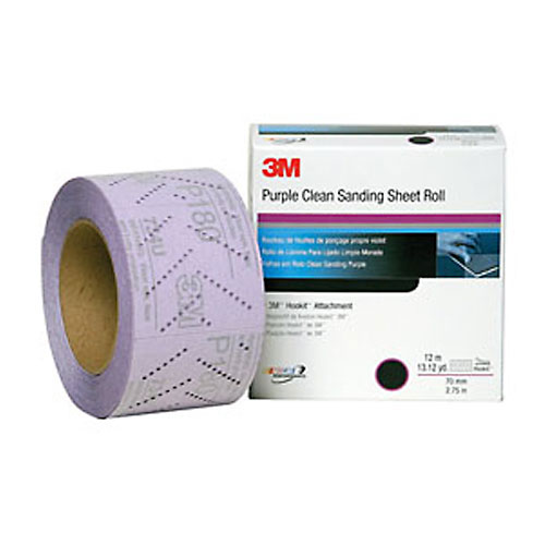 3M Hookit Purple Clean Sanding Sheet Roll 740I