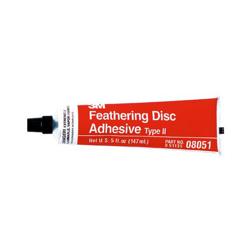 3M Feathering Disc Adhesive (Type 2), 08051, 5 oz Tube