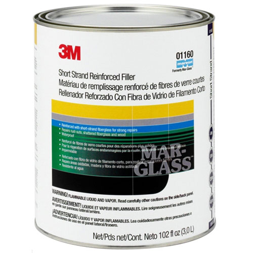 3M Marson Mar-Glass Short Strand Fiberglass Filler