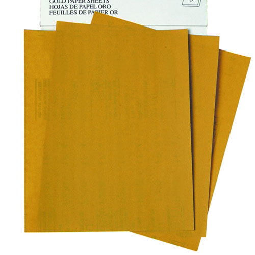 "3M Production Resinite Gold Sheets 9"" x 11"""