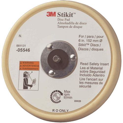 "3M Stikit Low Profile 6"" Finishing Disc Pad - 05546"