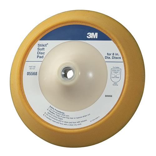 "3M Stikit 8"" Soft Disc Pad - 05568"