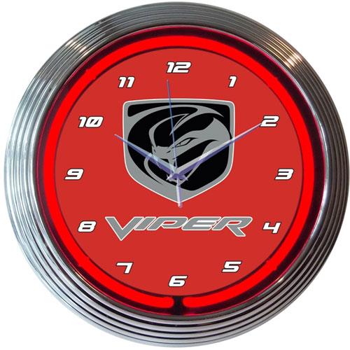 Neonetics VIPER Neon Clock