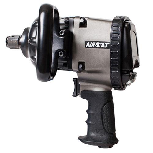 "AIRCAT 1"" Heavy-Duty Aluminum Pistol Grip Impact Wrench - 1880P-A"