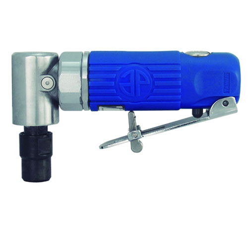 """Astro Pneumatic Blue Composite Body 1/4"""" 90° Angle Die Grinder Front Exhaust - 20,000rpm - 1240"""