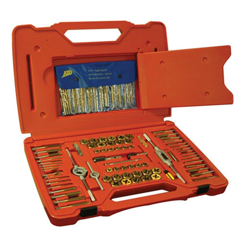 117 Pc. Tap and Die Set with Drill Bits - 277