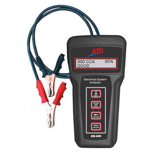6V & 12V Electronic Battery & 6, 12, 24, 36V Charging/Starting Systems Tester - 5491