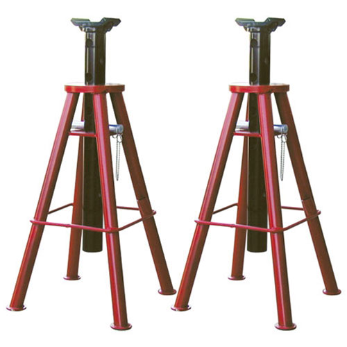 10-Ton Capacity High Lift Jack Stands - 7447