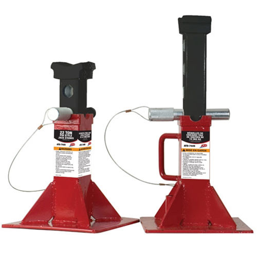 22-Ton Pin Style Jack Stands - 7449