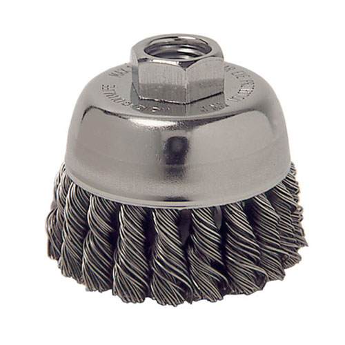 """ATD Tools 3"""" Knot Wire Cup Brush - 8228"""
