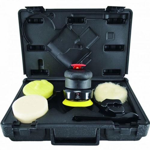 """Astro Pneumatic ONYX 3"""" 2500RPM Geared Palm Polisher Kit - 331"""
