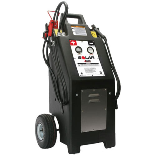 Clore Heavy Truck 12/24 Volt Commercial Charger/Starter with AGM Batteries - HT1224AGM