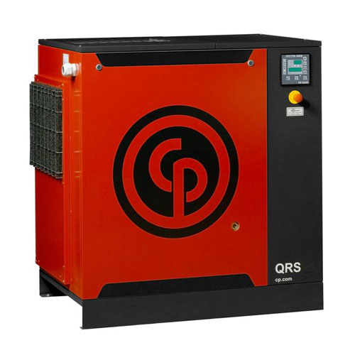 Chicago Pneumatic Quiet Rotary Screw 25HP Air Compessor With Refrigerated Dryer - QRS25 HPD-3