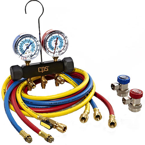 CPS Products Piston Series Manifold Gauge Set - MAIA8Q