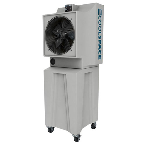 "Cool-Space Glacier 18"" Portable Evaporative Cooler w/Tall Base"