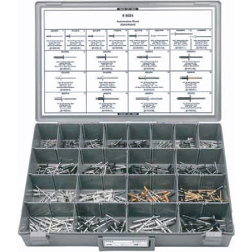 Automotive Pop Rivet Assortment - 8684