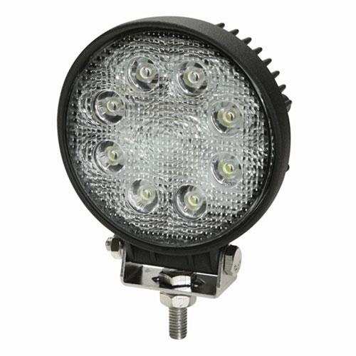 ECCO Worklamp: 8 LED Flood Beam, Round, 12-24 VDC - E92005