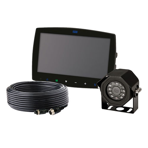 """ECCO Camera Kit: Gemineye, 7.0"""" LCD, Color System, Touch Screen Monitor - EC7003-K"""