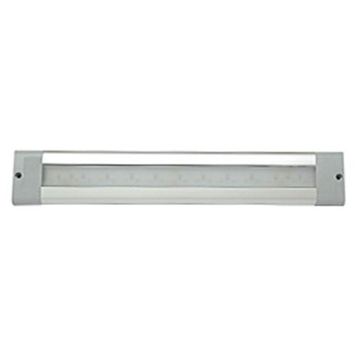 "ECCO 12"" Rectangular LED Interior Light, Surface Mount, 12-24V"