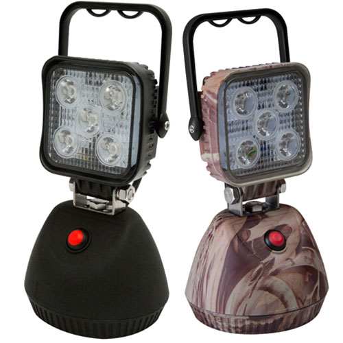 ECCO 5 LED Square Flood Beam Worklamp, 12-24VDC