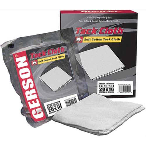"Gerson Standard 20x16 Mesh Cotton Tack Cloth, Size 18"" x 36"""