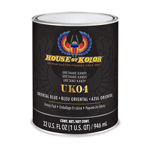 House of Kolor Oriental Blue Kandy Quart - UK4Q