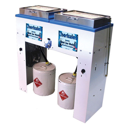 Herkules Automatic Combo Paint Gun Washer